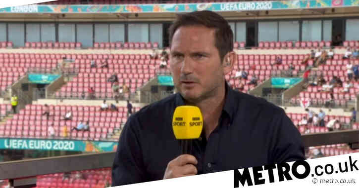 Frank Lampard praises Chelsea midfielder Billy Gilmour for his display in Scotland's draw with England at Euro 2020