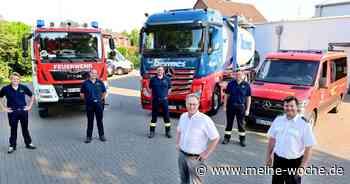 Firma Bermes sponsort wieder Tanklastzug für die Feuerwehr Willich. - Meine Woche