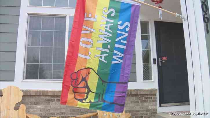 'Love Always Wins' Pride Flag Ripped Down From Thornton Home Not Once, But Twice