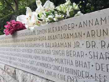 Meera Nair: Air India tragedy grows dimmer in Canadian memory with each passing year