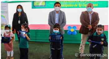 Entregan 150 tablets a niños de jardines municipales de La Esperanza - Diario Correo