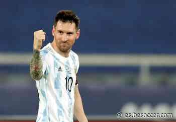 La sonrisa de Messi, la esperanza de Argentina - BeSoccer