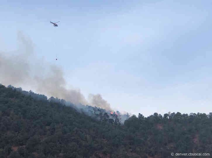 Crews Battle 1 Acre Snowmass Canyon Fire In Pitkin County