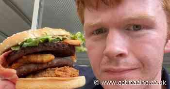 Man makes whopping burger using meals from McDonald's, KFC and Subway - Berkshire Live