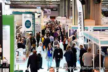 UK Food & Drink Shows to move to 2022 - FoodManufacture.co.uk