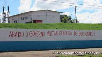RO: Em muros, povo de Porto Velho apoia a LCP - A Nova Democracia