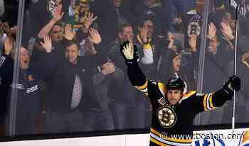Milan Lucic chugs beers in Vancouver to celebrate anniversary of Bruins Stanley Cup win