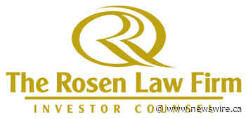 ROSEN, RESPECTED INVESTOR COUNSEL, Encourages Ocugen, Inc. Investors With Losses in Excess of $100K to Secure Counsel Before Important Deadline- OCGN