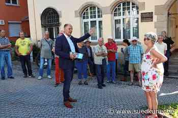Singen: Bernd Häusler auf Wahlkampfbesuch in Friedingen: Der OB verspricht für den Fall seiner Wiederwahl ein neues Feuerwehrhaus - SÜDKURIER Online