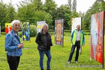 Singen: Kunst an der frischen Luft: Der Stadtgarten wird wieder zur Galerie - SÜDKURIER Online