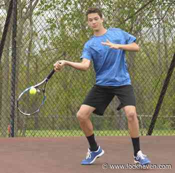 CM's David Lindsay excelled as a freshman in boys tennis - Lock Haven Express