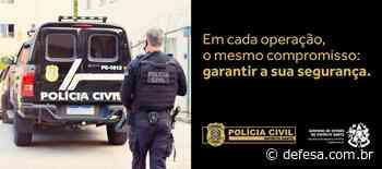 Dia do Policial Civil ES: do patrono Domingos José Martins à história de policiais - Defesa - Agência de Notícias