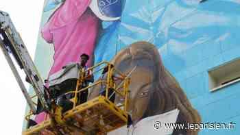 «Je peux ajouter ça à mon C.V.» : à Corbeil-Essonnes, une fresque géante pour s'élever vers l'emploi - Le Parisien