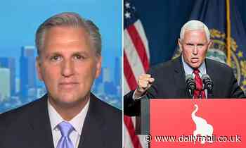 Kevin McCarthy defends Mike Pence, says he is NOT a 'traitor' after hecklers drown out VP with boos