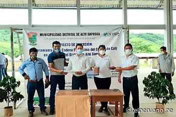 Devida transfiere recursos para mejorar la producción de café en Alto Saposoa - El Peruano