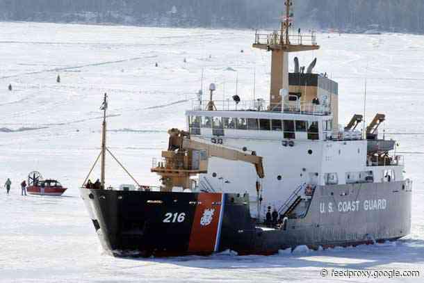 U.S. Coast Guard Cutter Alder Heading for New Home Port