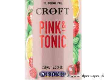 Croft lança Porto tónico rosé em lata - Hipersuper