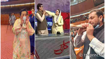 Gaalis, flying books, fights in Pakistan parliament. Imran Khan govt acting like opposition - ThePrint