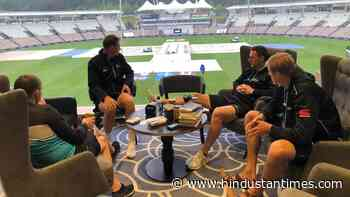 New Zealand players' photo with books while waiting for rain to stop in Southampton goes viral ahead of WTC final - Hindustan Times