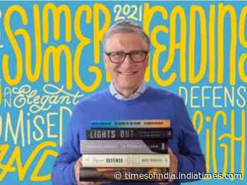 5 books recommended by Bill Gates for summer 2021 - Times of India