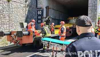 Voltri, esercitazione di emergenza delle ferrovie in galleria, tutto ok - La Repubblica