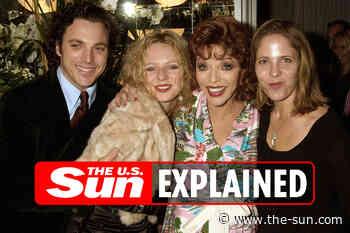 Joan Collins children: Who are Tara, Katyana, and Alexander?... - The US Sun