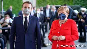 Leaders of Germany, France urge vigilance over virus variant - CTV News