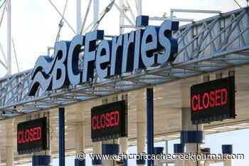 Surging web traffic crashes BC Ferries' site again – Ashcroft Cache Creek Journal - Ashcroft Cache Creek Journal