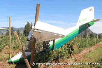 Plane crash lands into Grand Forks orchard, pilot injured – Ashcroft Cache Creek Journal - Ashcroft Cache Creek Journal