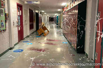 4 Nelson students arrested after messy grad prank closes school - Ashcroft Cache Creek Journal
