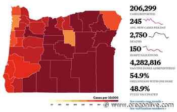Coronavirus in Oregon: 5 deaths, 315 cases - OregonLive