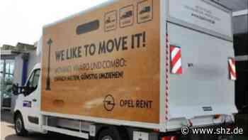 Zeugen gesucht: Unbekannte stehlen Umzugswagen vor Autohaus in Enge-Sande   shz.de - shz.de