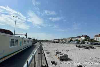 Gedaan met de chaos. Bouw nieuwe fietsenstalling aan station Dampoort begonnen - Het Nieuwsblad