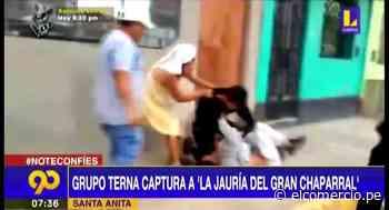 """Santa Anita: PNP captura a """"La Jauría del Gran Chaparral"""" con 720 envoltorios de cocaína - El Comercio Perú"""