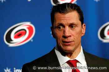 B.C.'s Brind'Amour named NHL coach of the year - Burns Lake Lakes District News