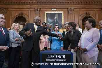 Biden to sign bill making Juneteenth a federal holiday - Burns Lake Lakes District News