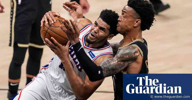 Teetering Philadelphia 76ers clip Hawks to ward off elimination and force Game 7