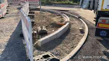 Straßen Radweg Infrastruktur: Kreisverkehr zwischen Marwitz, Velten, Hennigsdorf und Bötzow wird für Bauarbeiten voll gesperrt - moz.de