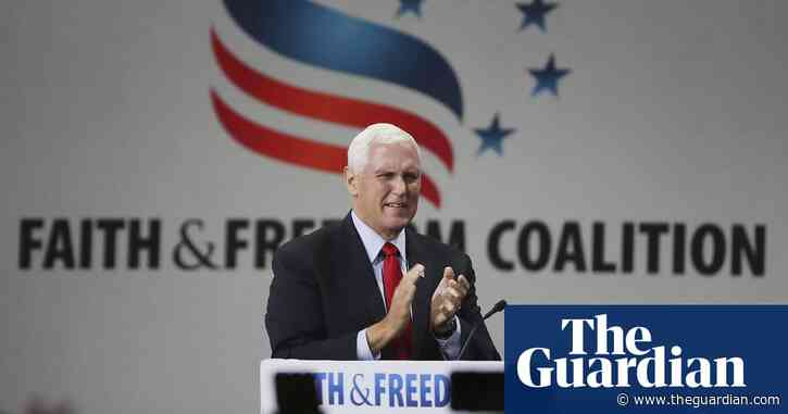 Conservative Christians jeer 'traitor' Pence for refusing to overturn election