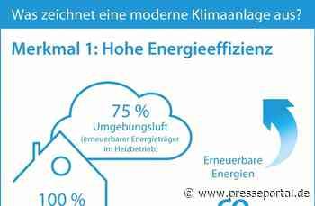 Klimakiller oder zukunftssichere Technologie? / Fünf Merkmale einer modernen und klimaschonenden Klimaanlage - Presseportal.de