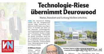 Technologie-Riese übernimmt Deurowood - Vorarlberger Nachrichten | VN.AT