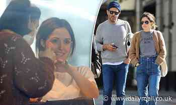 Rose Byrne treats herself to a manicure and shopping day with husband Bobby Cannavale in Double Bay