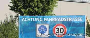 Erste Fahrradstraße in Traunreut - Traunsteiner Tagblatt