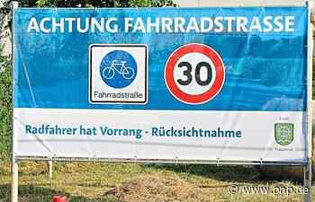 Frühlinger Spitz: Erste Fahrradstraße in Traunreut - Frühlinger Spitz - Passauer Neue Presse