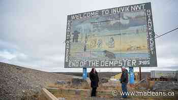 The legacy of Inuvik's iconic 'End of the Dempster' sign - Maclean's