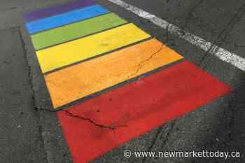 Rainbow crosswalk unveiled at York Region's Community Safety Village - NewmarketToday.ca