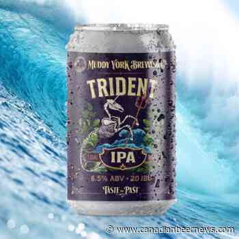 Muddy York Brewing Releases Trident Tidal Wave IPA - Canadian Beer News