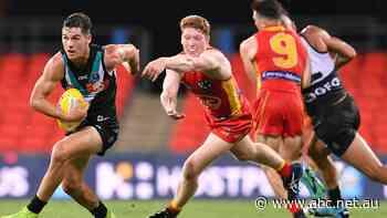 AFL live: Gold Coast hosting Port Adelaide to start three-game Saturday