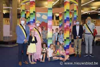 Een kleurrijke Lakenhalle, IJzertoren en Albert I-monument? In deze expo kunnen kinderen bekende monumenten nabouwen