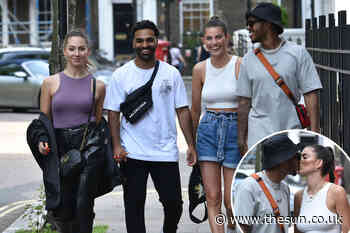 Love Island stars reunite ahead of new series as Rebecca Gormley, Biggs Chris, Eva Zapico and Nas Majeed... - The Sun